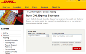 DHL Usa Tracking Number Domestic Rapid Automatic
