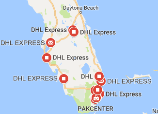 Dhl Florida Phone Number And Location Tracking Fast Delivery