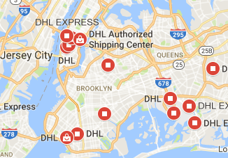 Dhl New York Phone Number Location And Tracking Fast Delivery