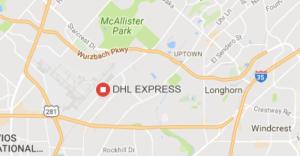 DHL San Antonio Tracking dan Courier Pengiriman Jasa