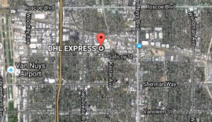 DHL Address Keswick St, Van Nuys, CA 91405 USA