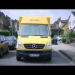 Paketzusteller bei Deutsche Post DHL