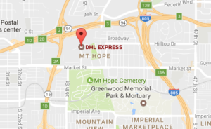 Dhl Locations San Diego California And Tracking Number