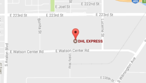 DHL Office Watson Center Rd, Carson Phone Number Tracking