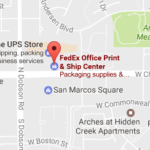 Fedex Office Print & Ship Center Chandler az 85224 Tracking Number