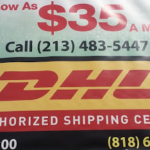 DHL 2120 W 8th St #200, Los Angeles, CA 90057 Tracking Number