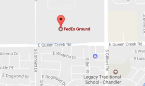 Fedex Ground Chandler az Phone and Tracking Number