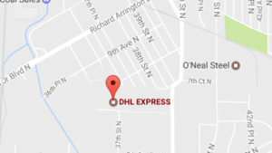 Dhl Express Birmingham al Phone and Tracking Number
