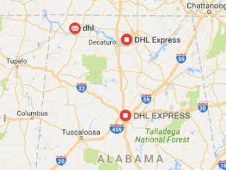 DHL Offices In Alabama Phone And Tracking Number