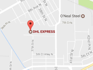 DHL Office Birmingham Alabama Tracking Number