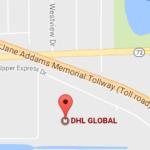 DHL Office Upper Express Dr, Des Plaines Tracking Number
