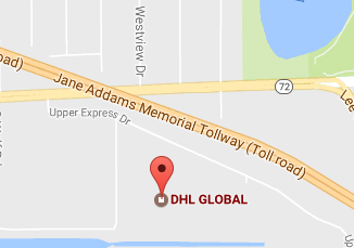 DHL Office Upper Express Dr, Des Plaines Tracking Number