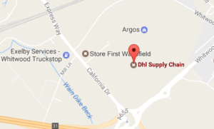 Dhl California Drive Castleford Tracking Number