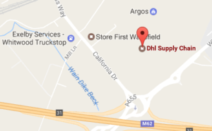 Dhl Castleford California Drive And Tracking Number