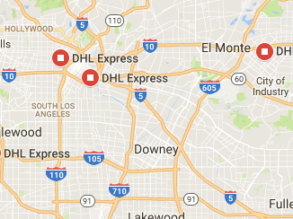 DHL Express Los Angeles California Tracking Number