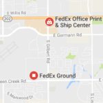 Fedex Gilbert and Queen Creek Phone Tracking Package