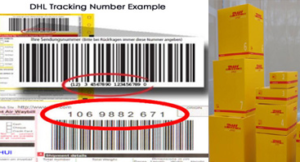 Dhl Tracking Number Format Example