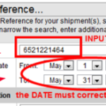DHL Tracking Customer Reference Number