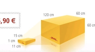 DHL Standard International Shipping Tracking Number